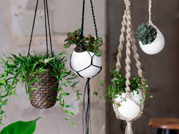 modern macrame for interior decorating