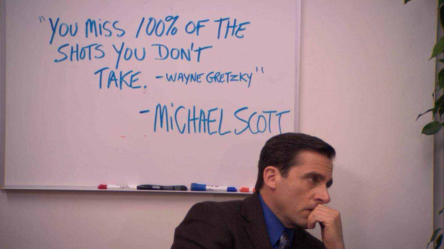 Picture of Michael Scott of the Office