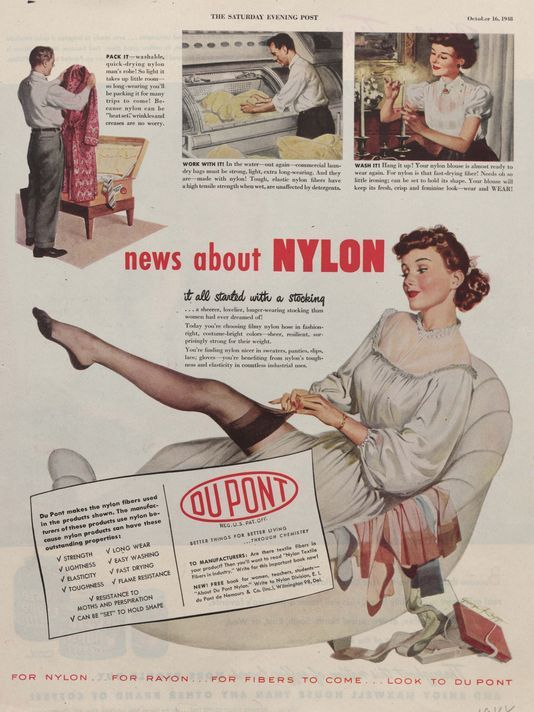 nylons in magazine