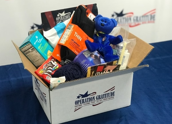 Operation Gratitude care package items