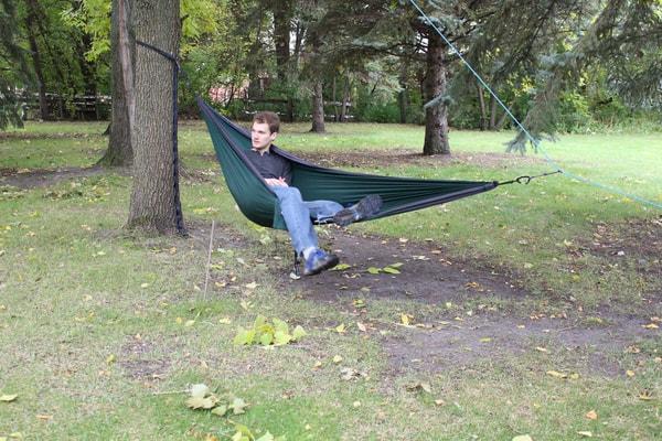 Sitting in the Hammock