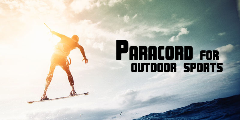 Paracord for outdoor sports