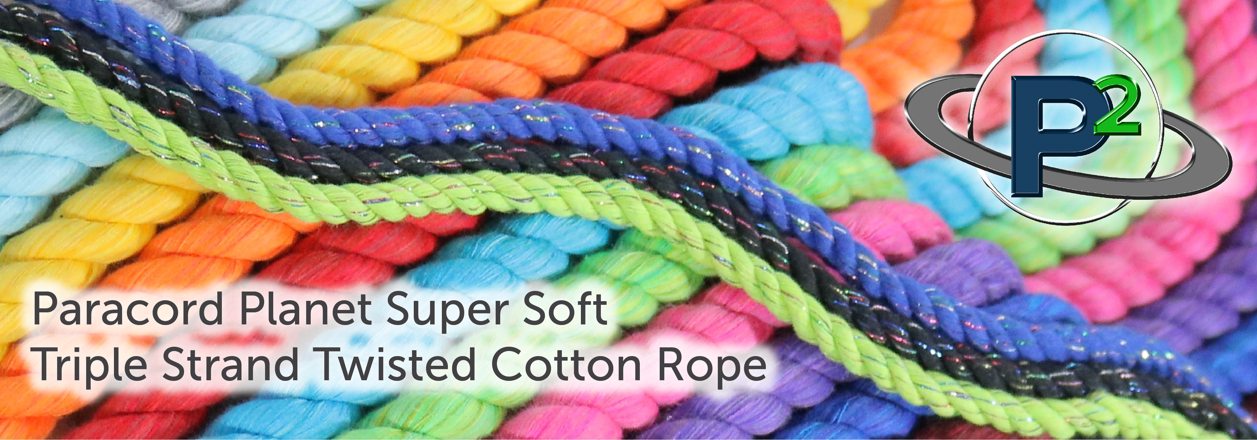 Paracord Planet Triple Strand Twisted Cotton Rope