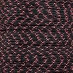 Black w/Pink X 550 Paracord
