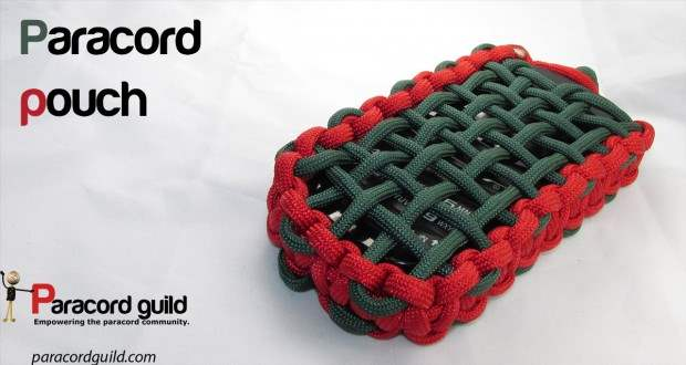 Paracord Phone Pouch