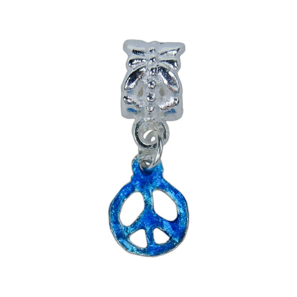 Dangle Peace Sign Charm