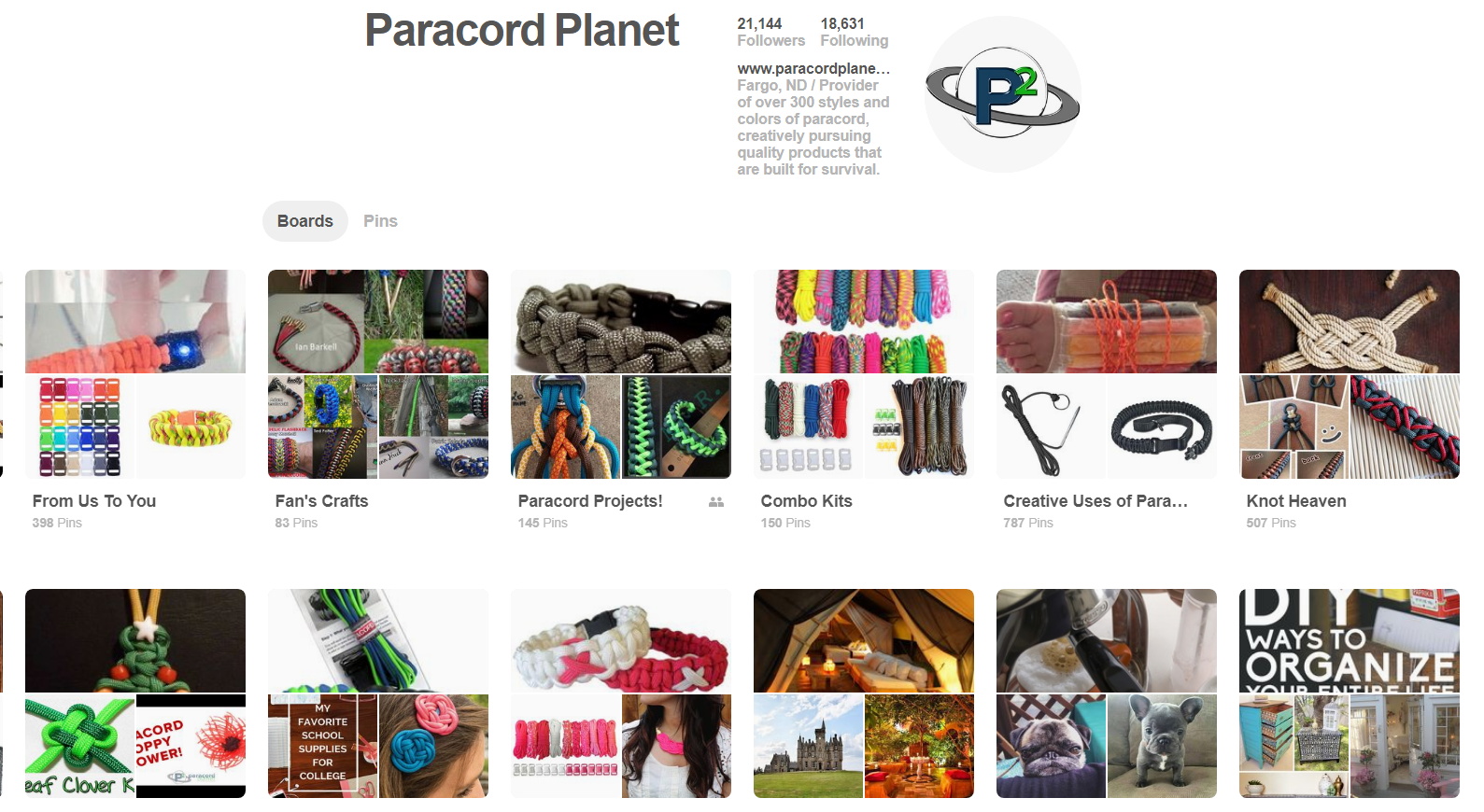 Paracord Planet on Pinterest
