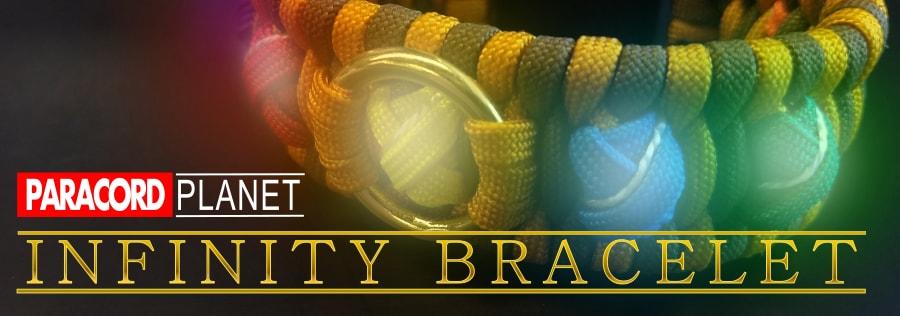Paracord Planet Infinity Bracelet