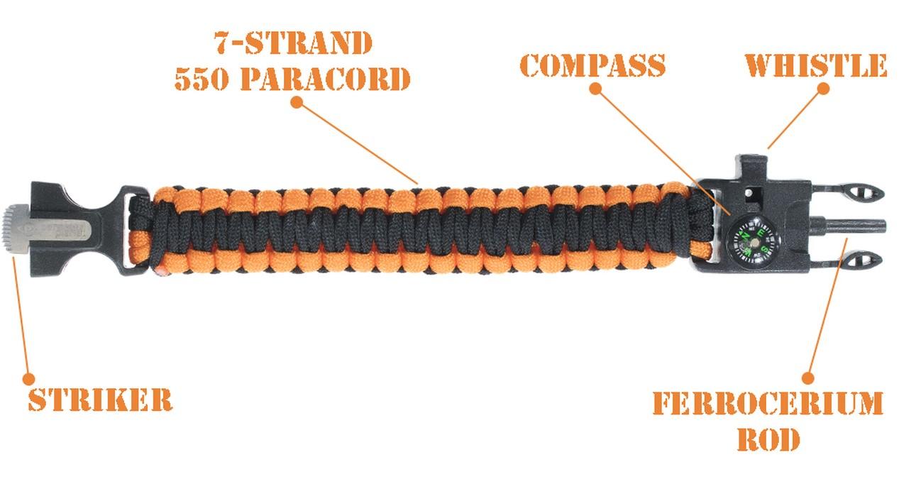 survival bracelet functions