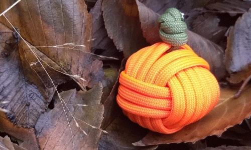 Paracord Pumpkin