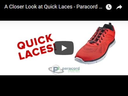A Closer Look at Quick Laces - Paracord Planet