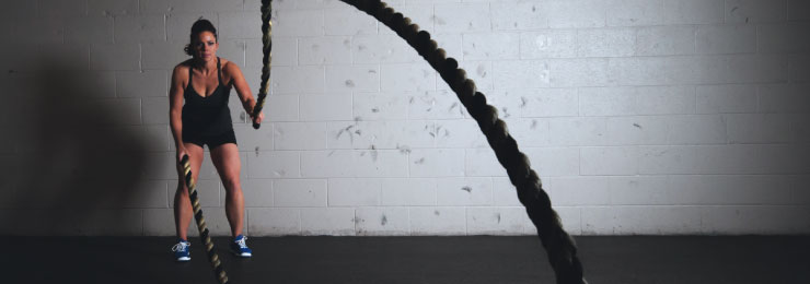 battle ropes for fitness