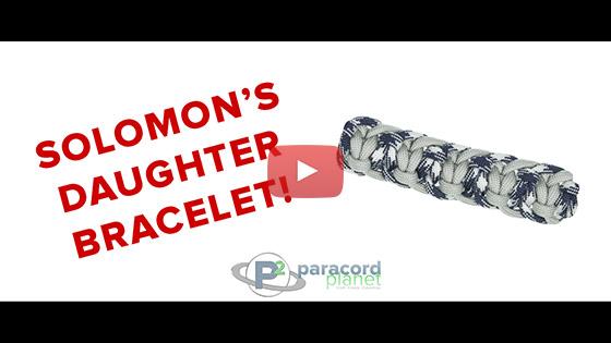 Solomon's Daughter Paracord Bracelet