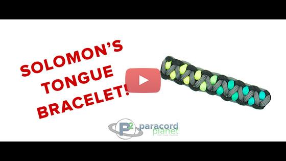 Solomon's Tongue Paracord Bracelet