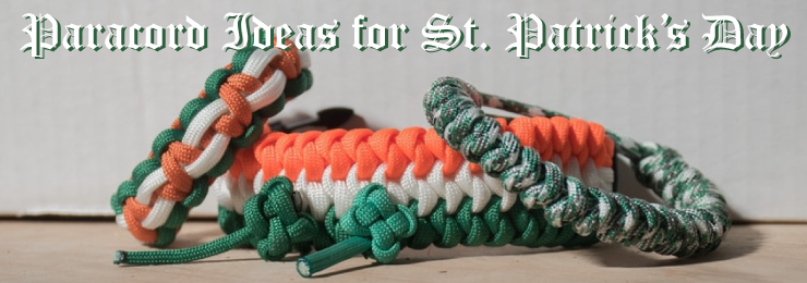 Paracord projects for St. Patricks Day