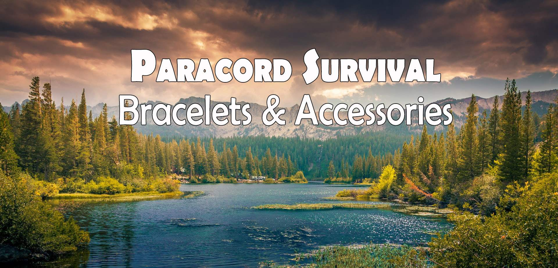 Paracord Survival Bracelets and Accessories