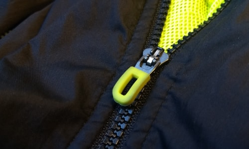 rain jacket zipper pull