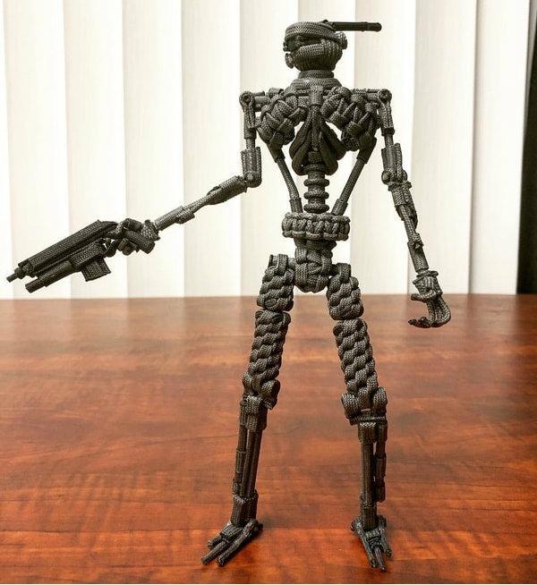 Paracord Cyborg Action Figure
