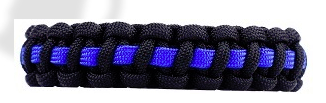 This Blue Line Paracord Bracelet