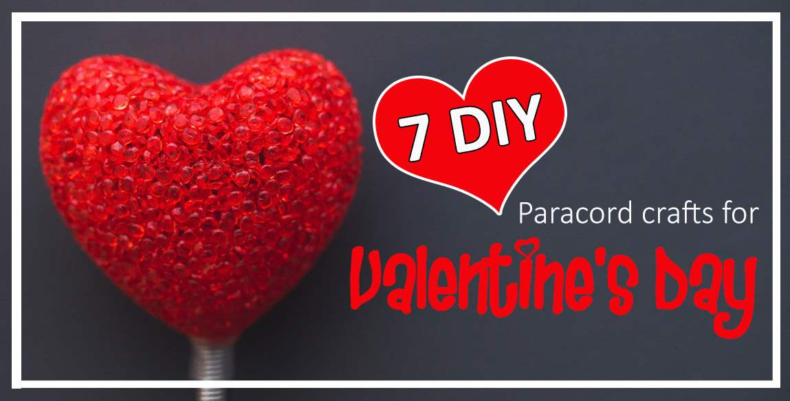 7 DIY Paracord Crafts for Valentine's Day