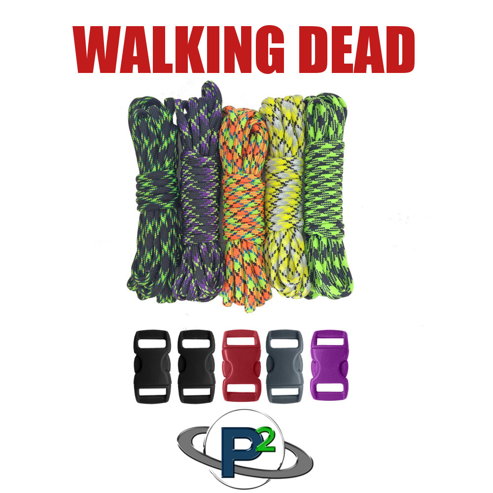 Walking Dead Paracord Colors