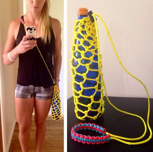Paracord Water Bottle Koozie