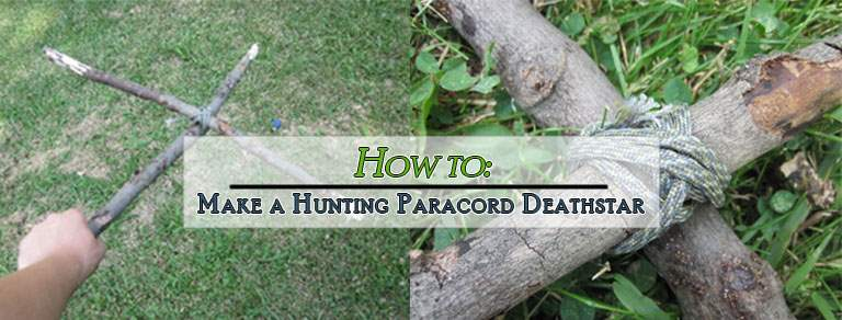 Make a Hunting Paracord Deathstar