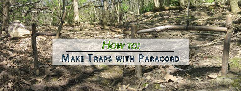 How to Make Traps with Paracord