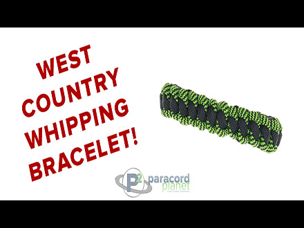 West Country Whipping Bracelet Tutorial