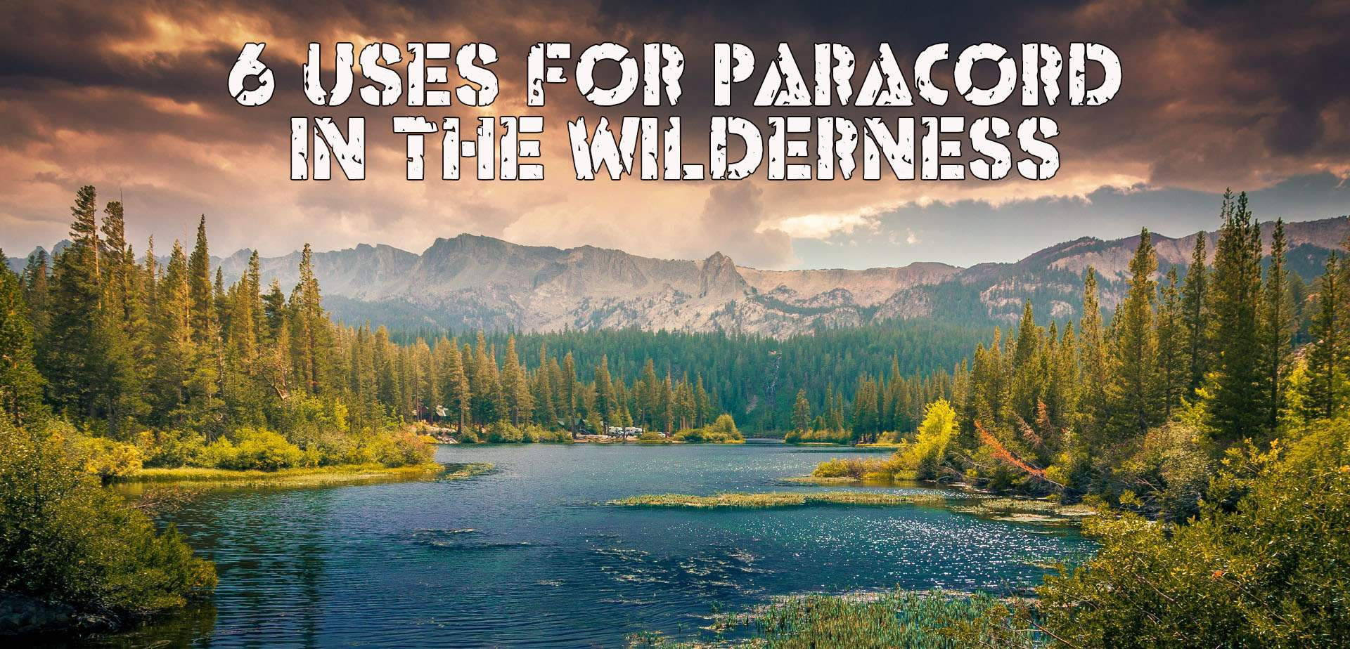 6 Uses for Paracord in the Wilderness