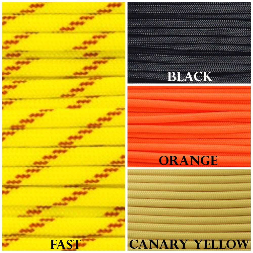 Halloween Paracord Witch Pallette Colors