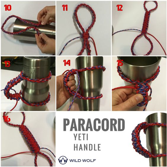 paracord yeti handle