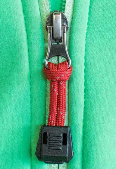 Paracord Zipper Pull